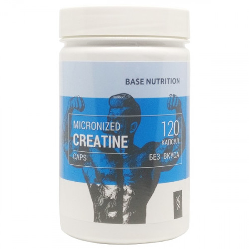 CMTech Base Nutrition Micronized Creatine Caps (120 капс.)