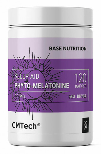 CMTech Base Nutrition Sleep Aid Melatonin 10 мг (120 капс.)