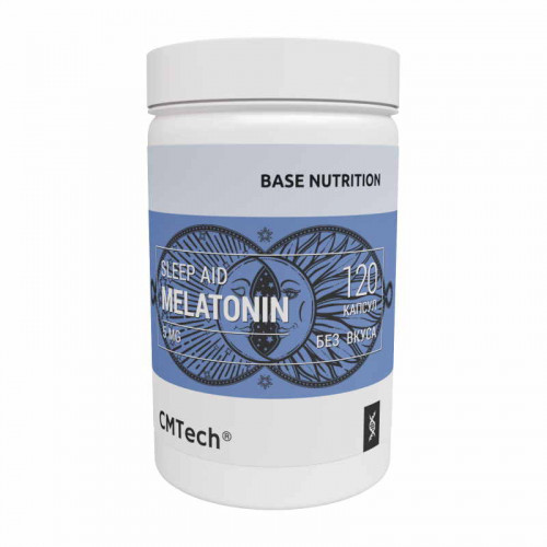 CMTech Base Nutrition Sleep Aid Melatonin 5 мг (120 капс.)
