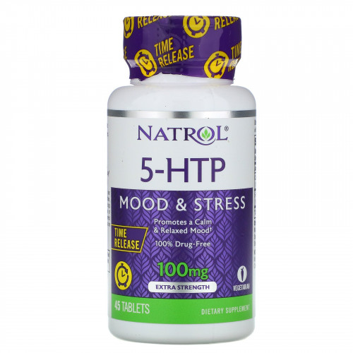 Natrol 5-HTP Time Release 100 мг (45 таб.)