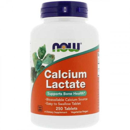 Now Foods Calcium Lactate Tablets (250 таб.)
