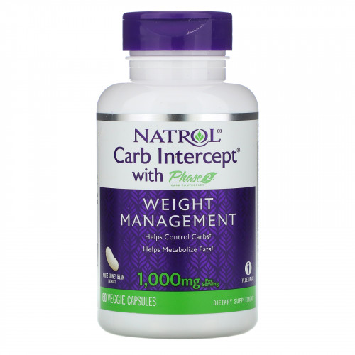 Natrol Carb Intercept 3 with Phase 2 Carb Controller (60 капс.)