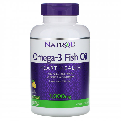 Natrol Omega-3 Fish Oil 1000 мг Softgels (150 капс.)
