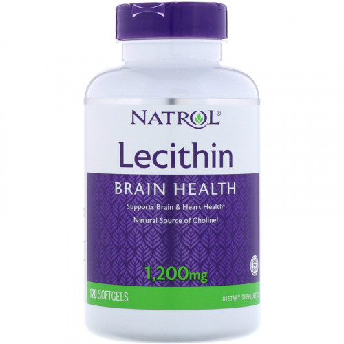 Natrol Soya Lecithin 1200 мг Softgels (120 капс.)