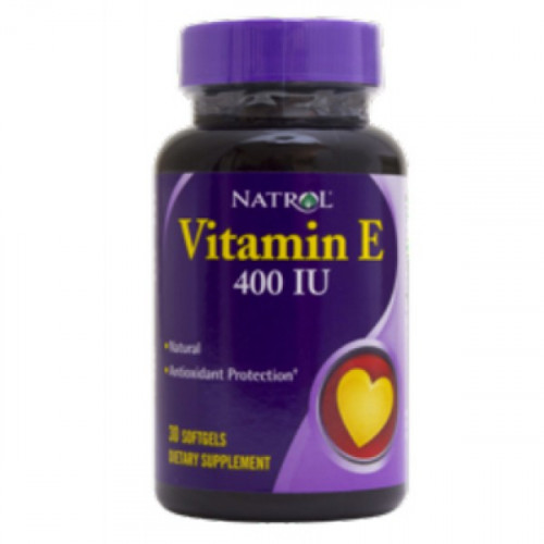 Natrol Vitamin E 400IU Softgels (60 капс.)