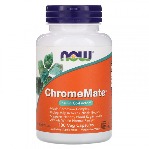 Now Foods ChromeMate (180 капс.)