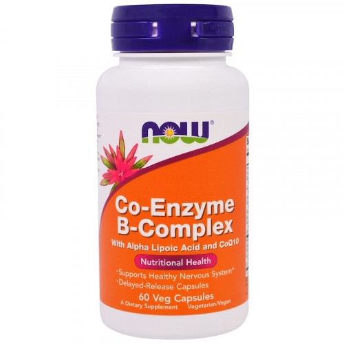 Now Foods Co-Enzyme B-Complex Veggie (60 капс.)