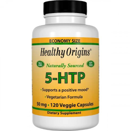 Healthy Origins 5-HTP 50 mg Veggie (120 капс.)