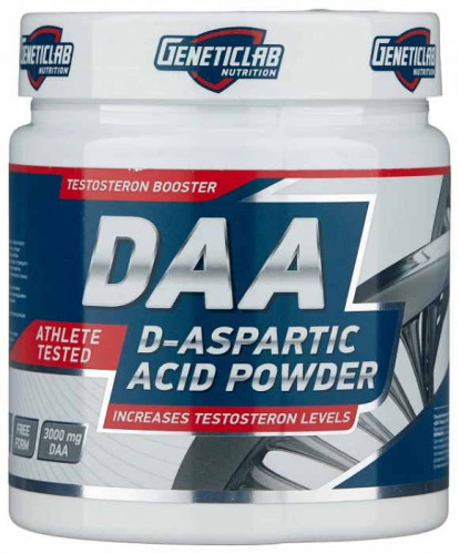 GeneticLab Nutrition DAA D-Aspartic Acid (100 гр.)