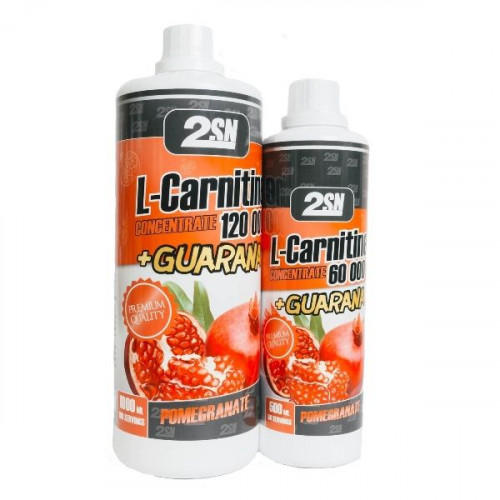 2SN L-Carnitine Concentrate 120000 + Guarana (1000 мл)