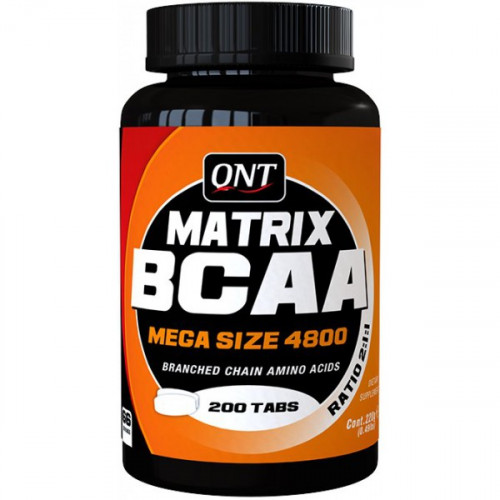 QNT Matrix BCAA 4800 (200 таб.)