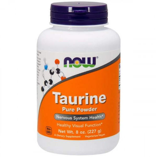 Now Foods Taurine Pure Powder (227 гр.)