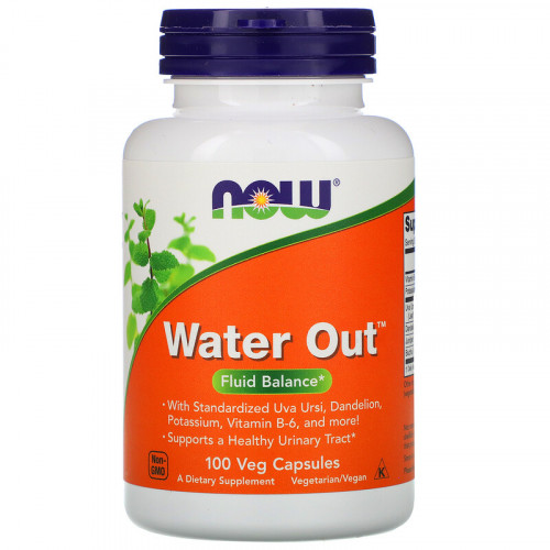 Now Foods Water Out Fluid Balance Veggie (100 капс.)