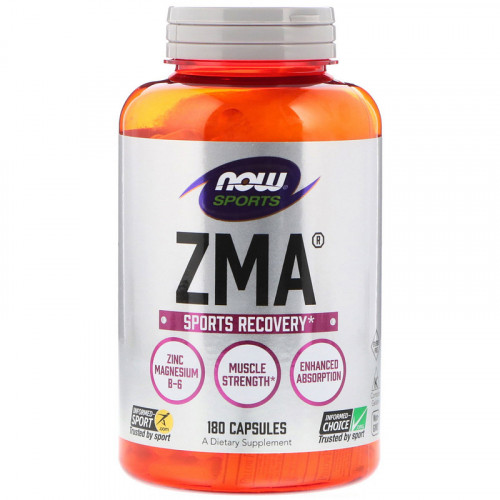 Now Foods ZMA Sports Recovery (180 капс.)