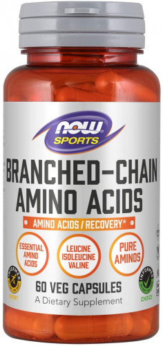 Now Sports Branched Chain Amino Acids Capsules (60 капс.)