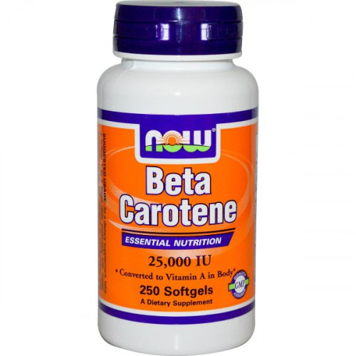 Now Foods Beta Carotene (100 капс.)