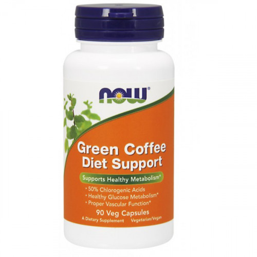 Now Foods Green Coffee Diet Support Veg (90 капс.)