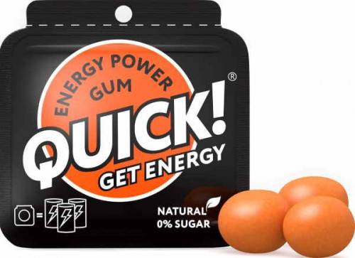 Quick Energy Power Gum (3 шт.)