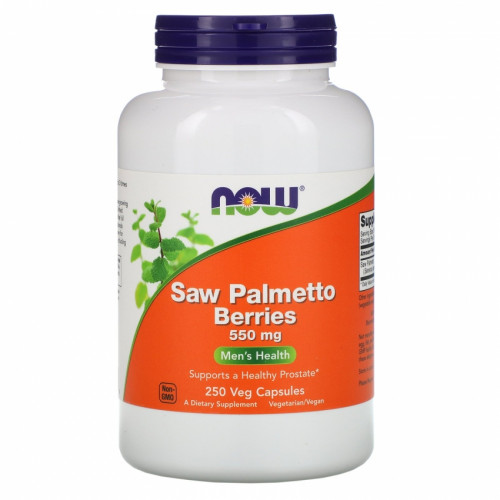 Now Foods Saw Palmetto Berries 550 mg Veg (250 капс.)