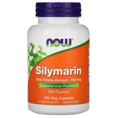 Now Foods Silymarin Milk Thistle Extract 150 мг (120 капс.)