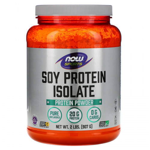 Now Foods Sports Soy Protein Isolate (907 гр.)