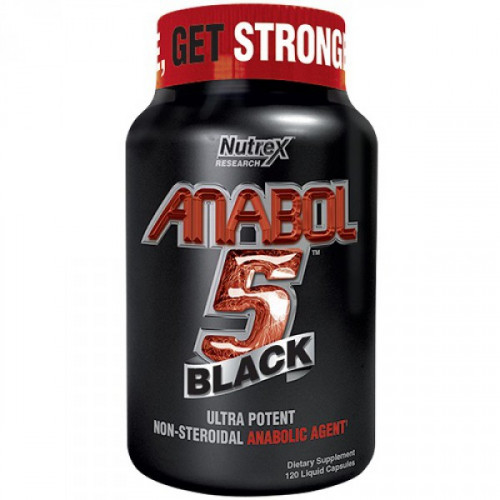 Nutrex Research Anabol 5 Black (120 капс.)