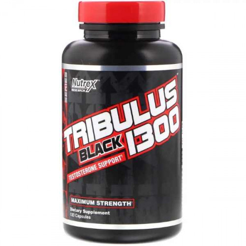 Nutrex Research Tribulus Black 1300 (120 капс.)