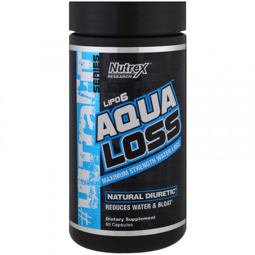 Nutrex Research Lipo 6 Aqua Loss (80 капс.)
