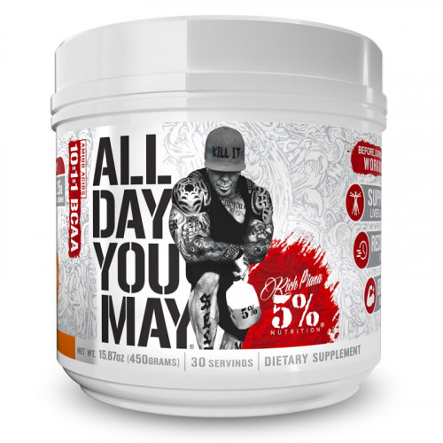 Rich Piana 5% Nutrition All Day You May (465 гр.)