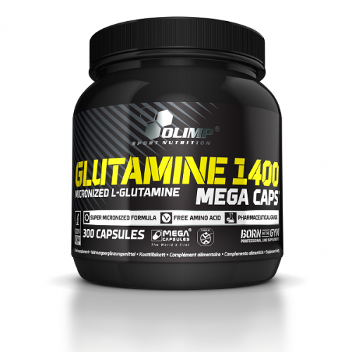 Olimp Sport Nutrition Glutamine 1400 Mega Caps (300 капс.)