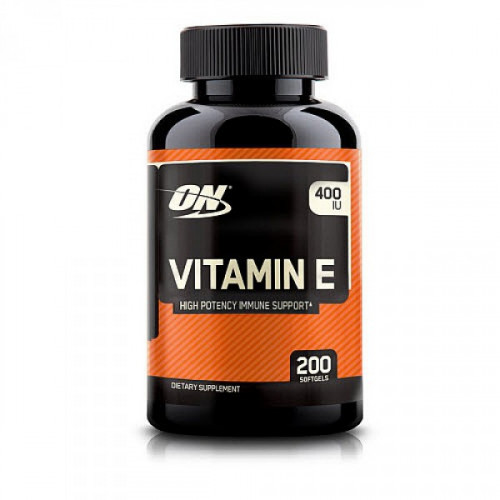 Optimum Nutrition Vitamin E (200 капс.)