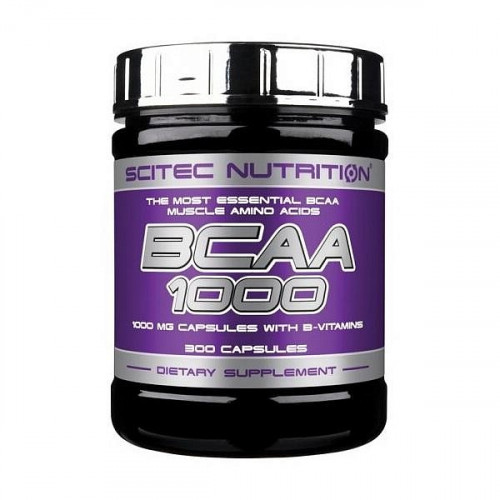 Scitec Nutrition BCAA 1000 (300 капс.)