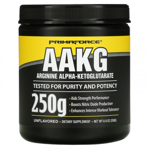 PrimaForce AAKG Arginine Alpha-Ketoglutarate (250 гр.)