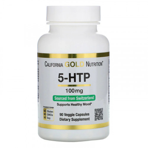 California Gold Nutrition 5-HTP 100 мг (90 капс.)
