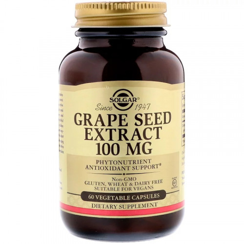 Solgar Grape Seed Extract 100 мг (60 капс.)