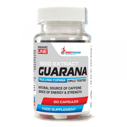 WestPharm Guarana 500 мг (60 капс.)